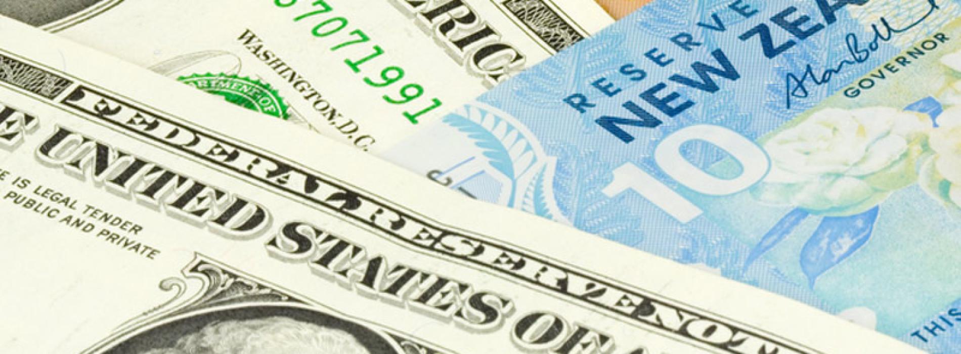 Blok dolarowy: RBNZ ucina wyprzedaż kiwi