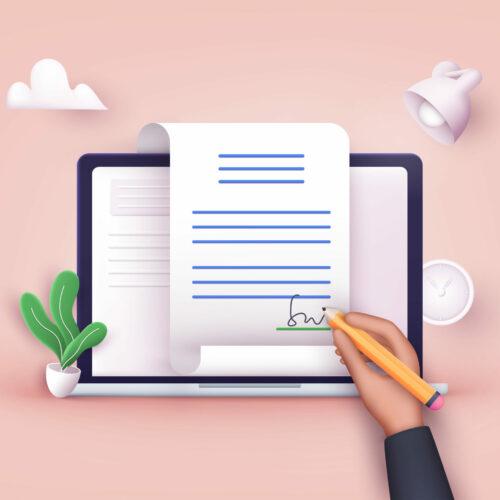 Kwalifikowany podpis elektroniczny do podpisywania i przesyłania deklaracji ZUS